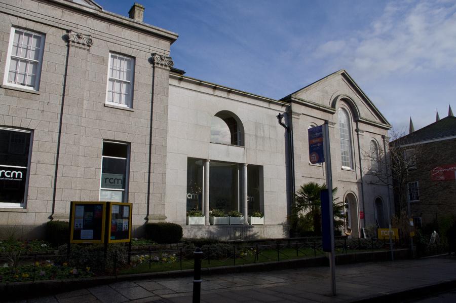 Paintings At Royal Cornwall Museum / Truro Arts, Truro: Feb 2012