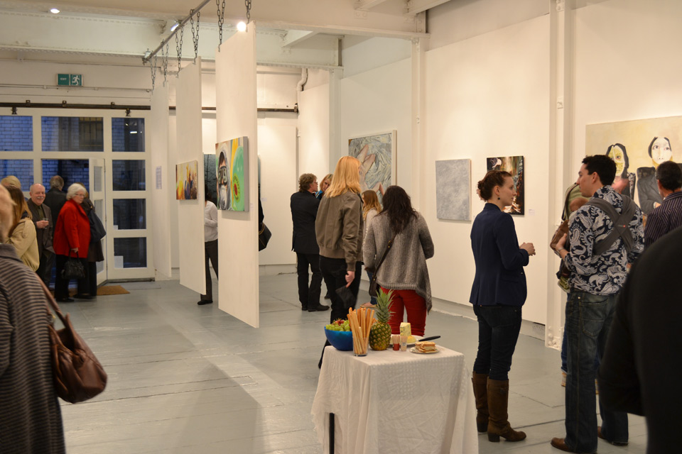 © The Door Prize / The Door Prize For Painting, Private View, 17.03.2012