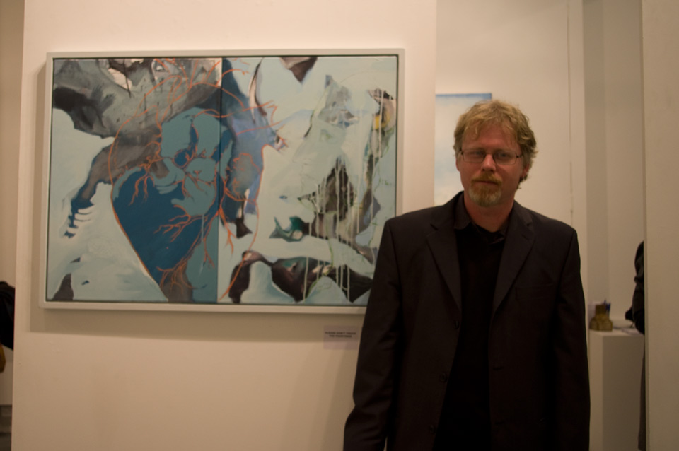 © Duncan Hopkins / The Door Prize For Painting, Private View, 17.03.2012