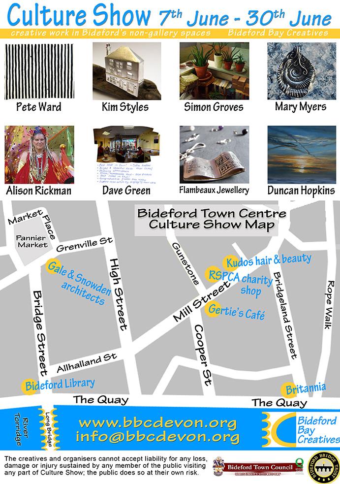 Culture Show, Bideford, Devon – 7 To 30 June 2013