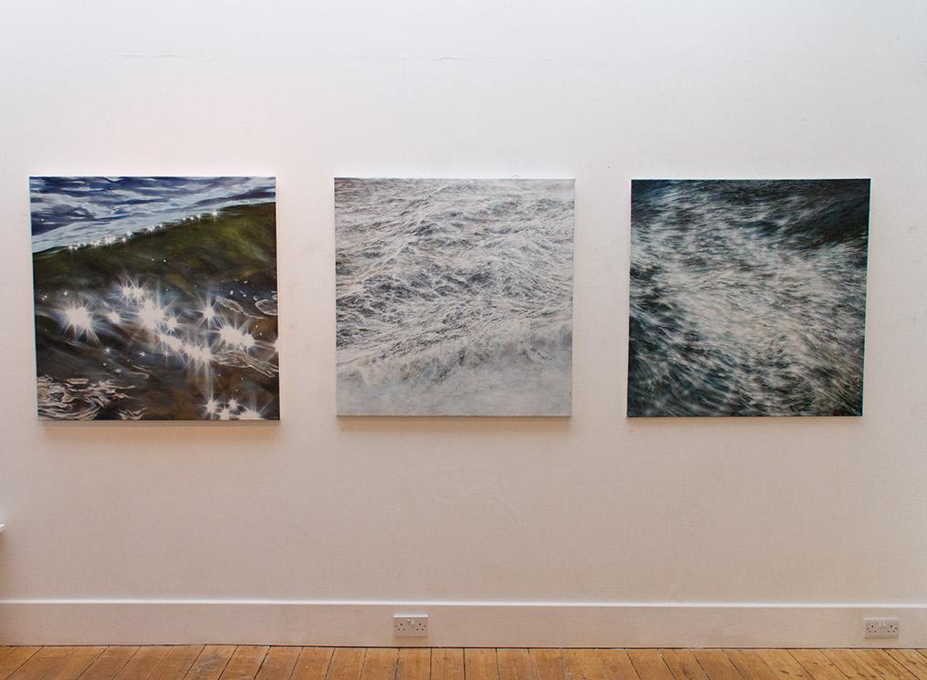 Solo Exhibition – WAVE / PARTICLE, The Plough Arts Centre, Torrington, Devon, 13 Jan–17 Feb 2018